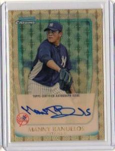 manny banuelos super fractor